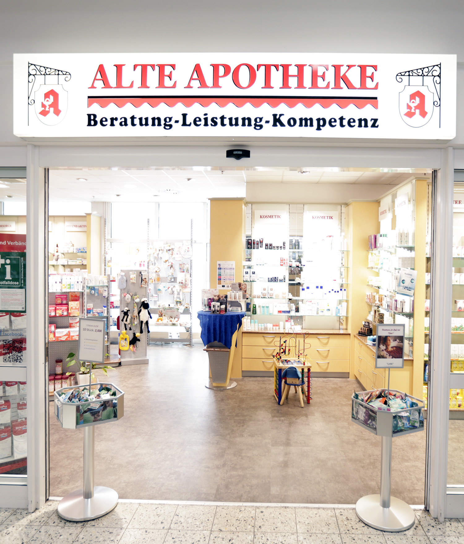 Alte Apotheke im Kaufland Bad Freienwalde